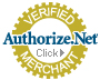Our transactions are securely processed by Authorize.net